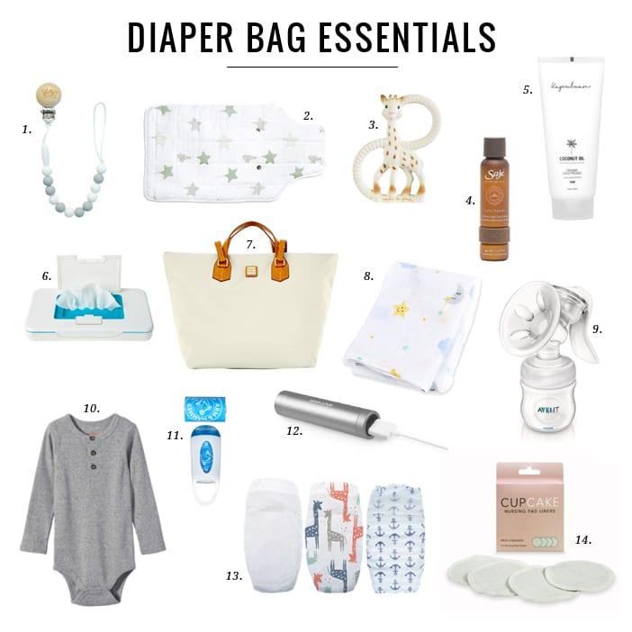 Diaper Bag Essentials - Jillian Harris