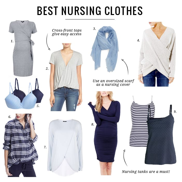 61d9c51dbf The Best Nursing Clothes - Jillian Harris