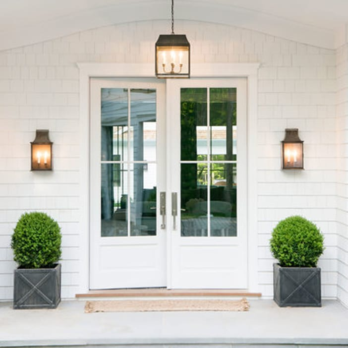 New house inspiration jillian harris bloglovin for Double opening front doors
