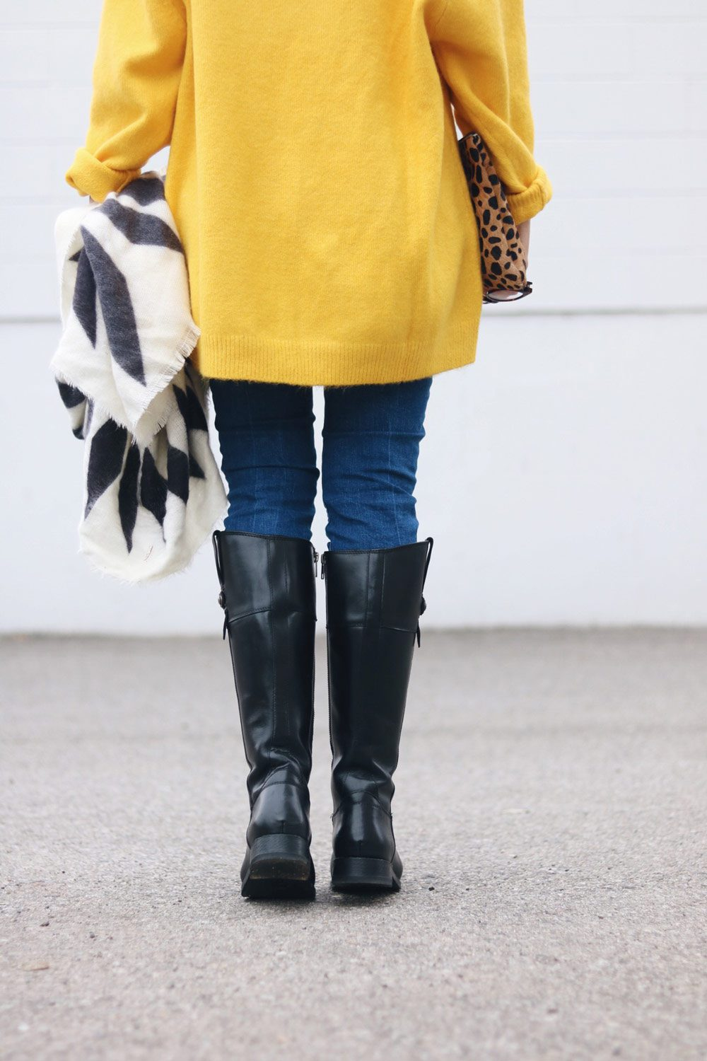 frye-boots-yellow-sweater