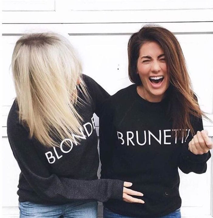 Image result for brunette the label