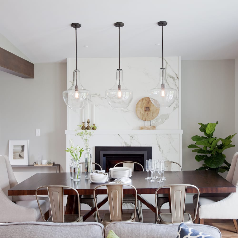Lights Dining Room: Love It Or List It Vancouver: Mary & Calvin