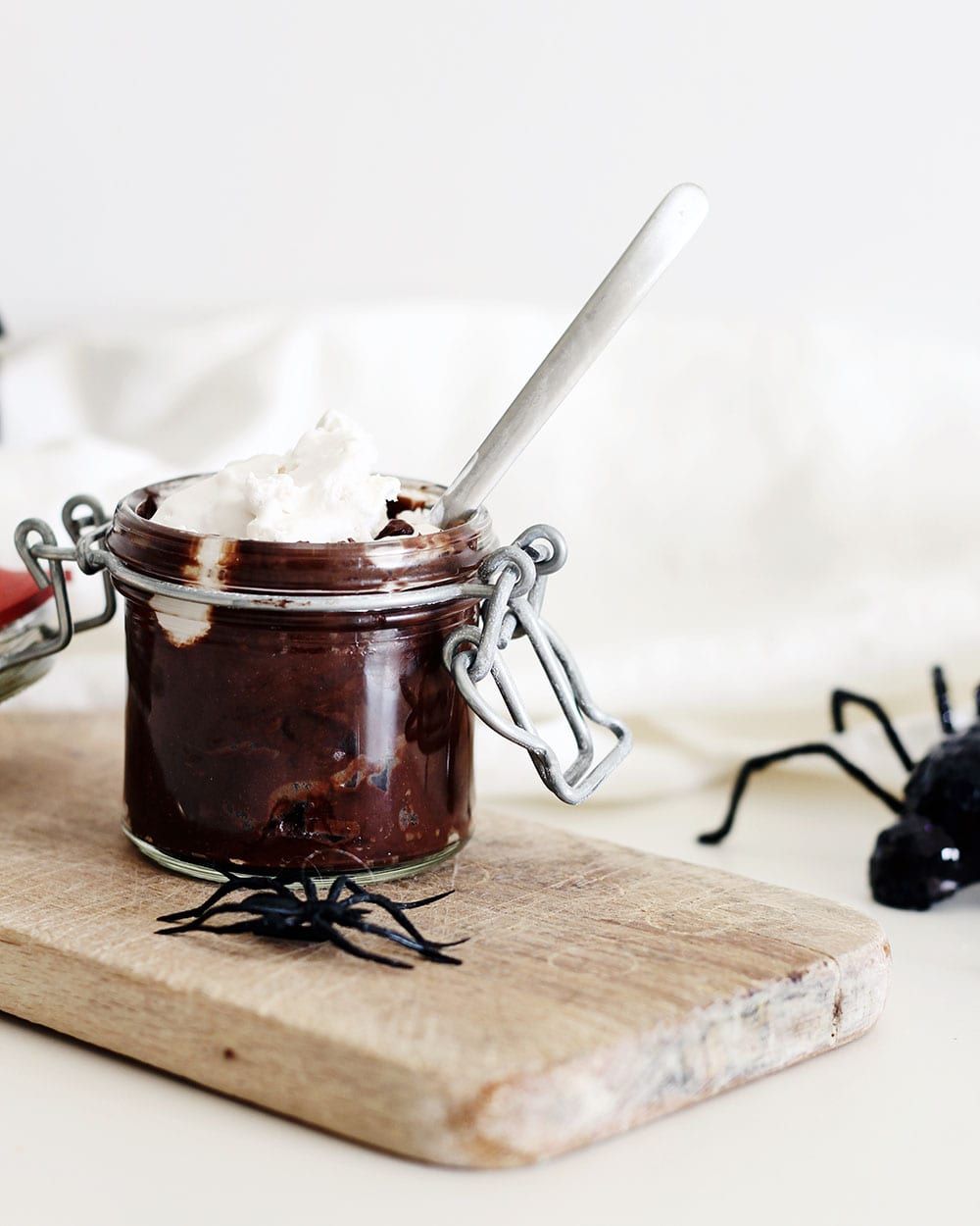 halloween-chocolate-avocado-vegan-pudding