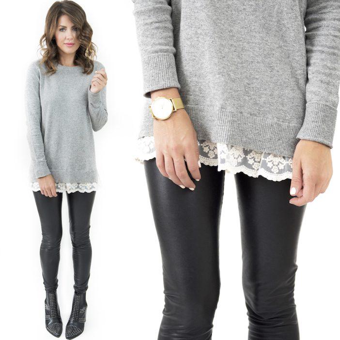 jillian harris for privilege luna sweater