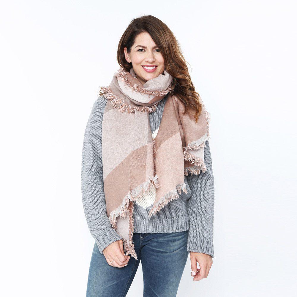 jillian harris-for-privilege clothing-new-scarf