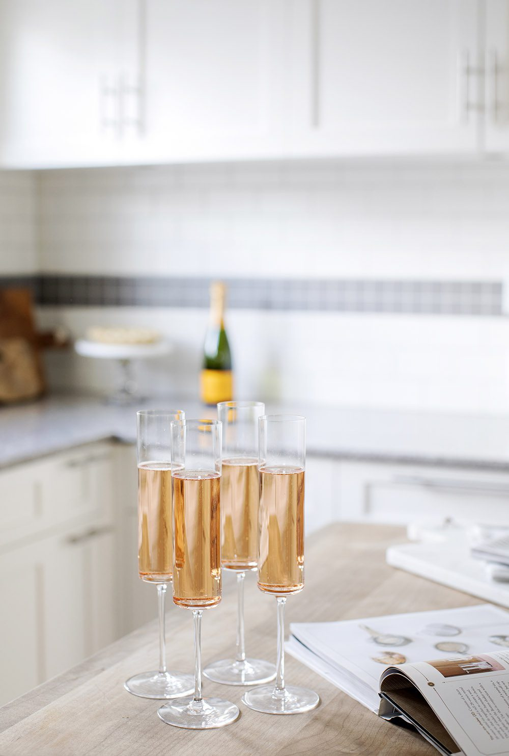 champagne-in-jillians-vancouver-home