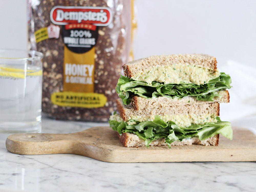 open-faced-tuna-sandwich