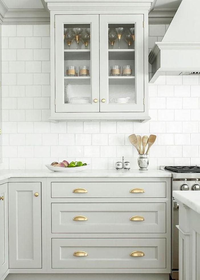Jillian Harris Kitchen Decor and cabinets