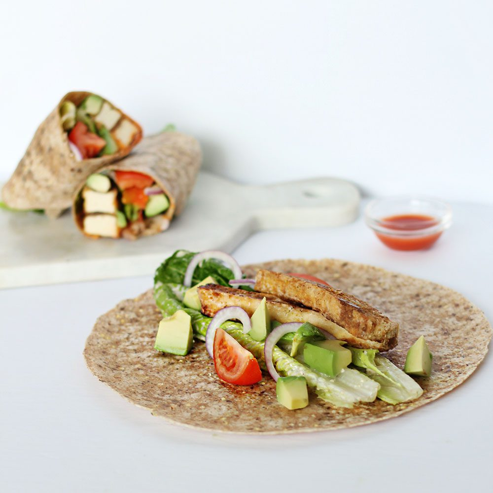 jillian-harris-tofu-buffalo-wraps