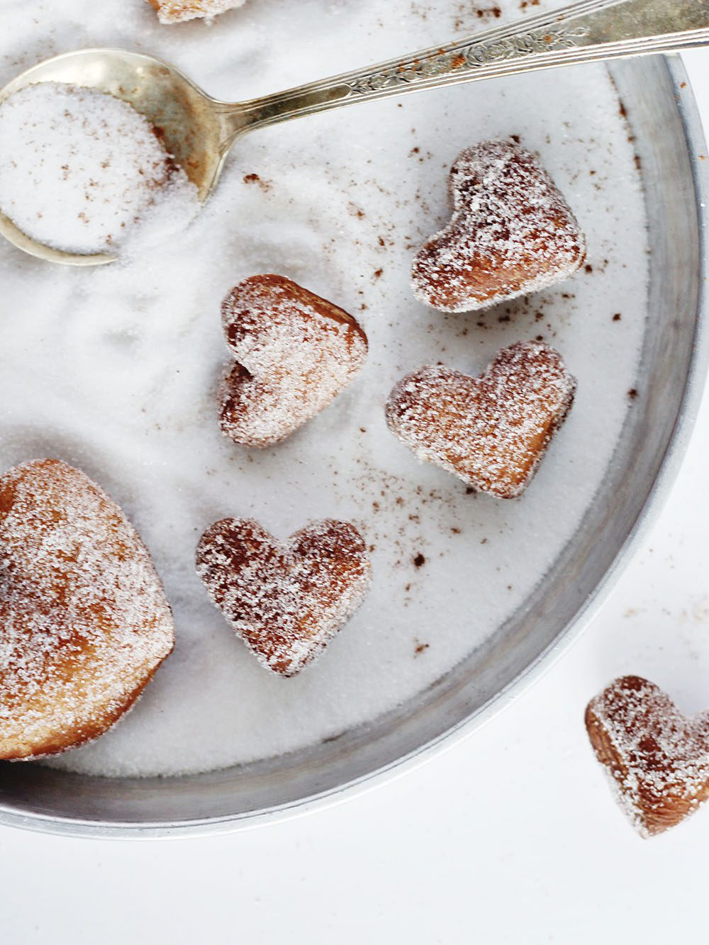 How to make vegan heart shaped donuts