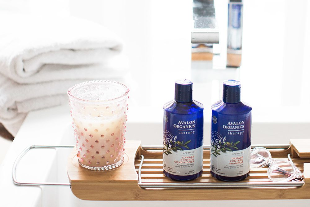 Jillian Harris - Avalon Organics Argan Oil-2