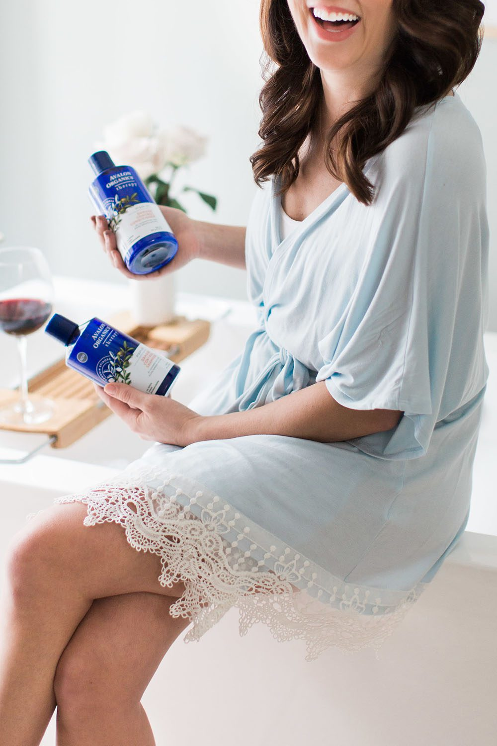 Jillian Harris - Avalon Organics Argan Oil-5