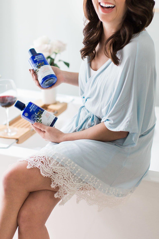 Jillian Harris - Avalon Organics Argan Oil-5