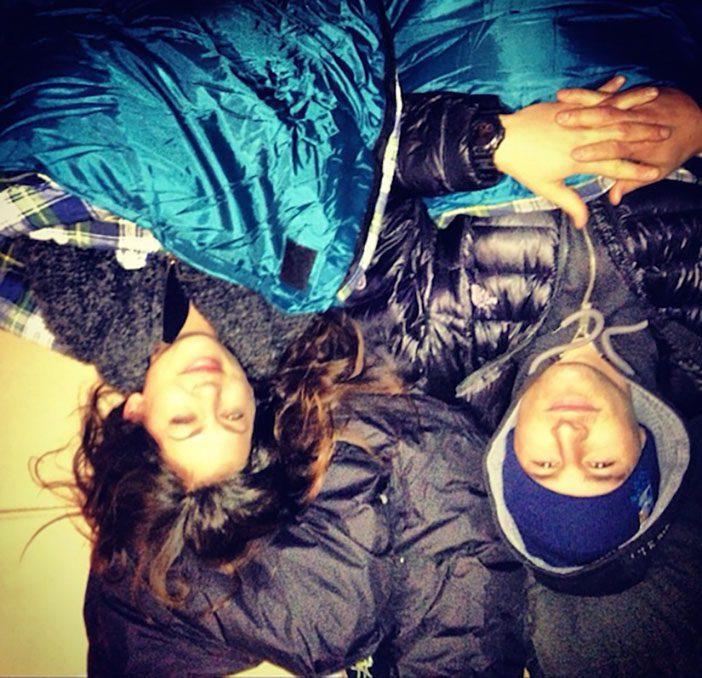 Jillian Harris - Covenant House Sleep Out