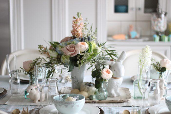 Jillian Harris - Easter Decorating-3