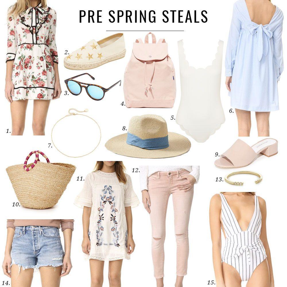Pre Spring Sales
