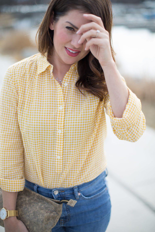 Jillian Harris - Gingham Trend-1