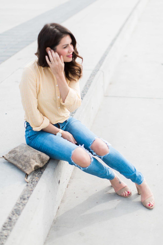 Jillian Harris - Gingham Trend-2