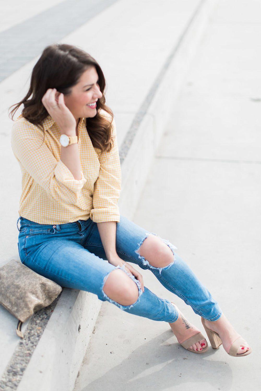 Jillian Harris - Gingham Trend-3