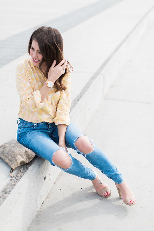 Jillian Harris - Gingham Trend-5