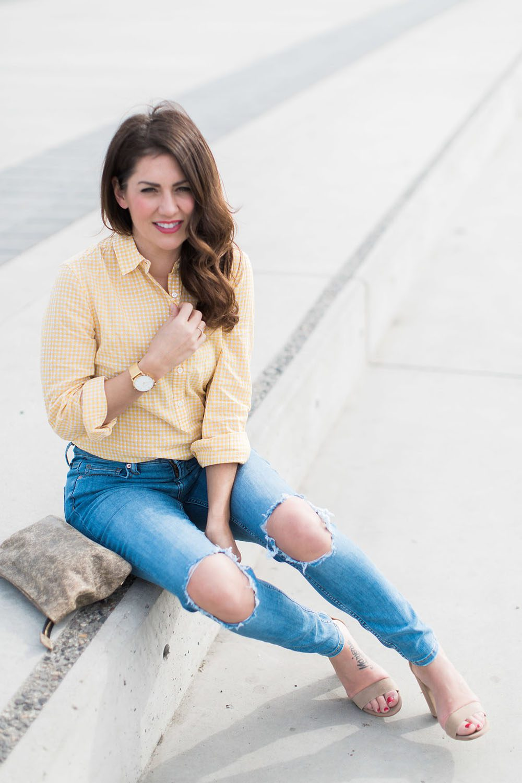 Jillian Harris - Gingham Trend-6