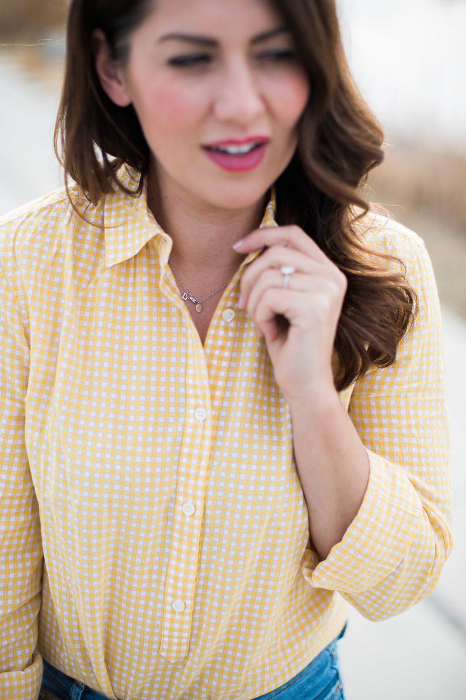 Jillian Harris - Gingham Trend-7
