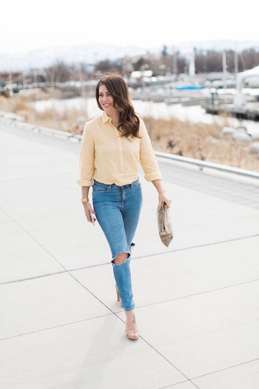 Jillian Harris - Gingham Trend-9