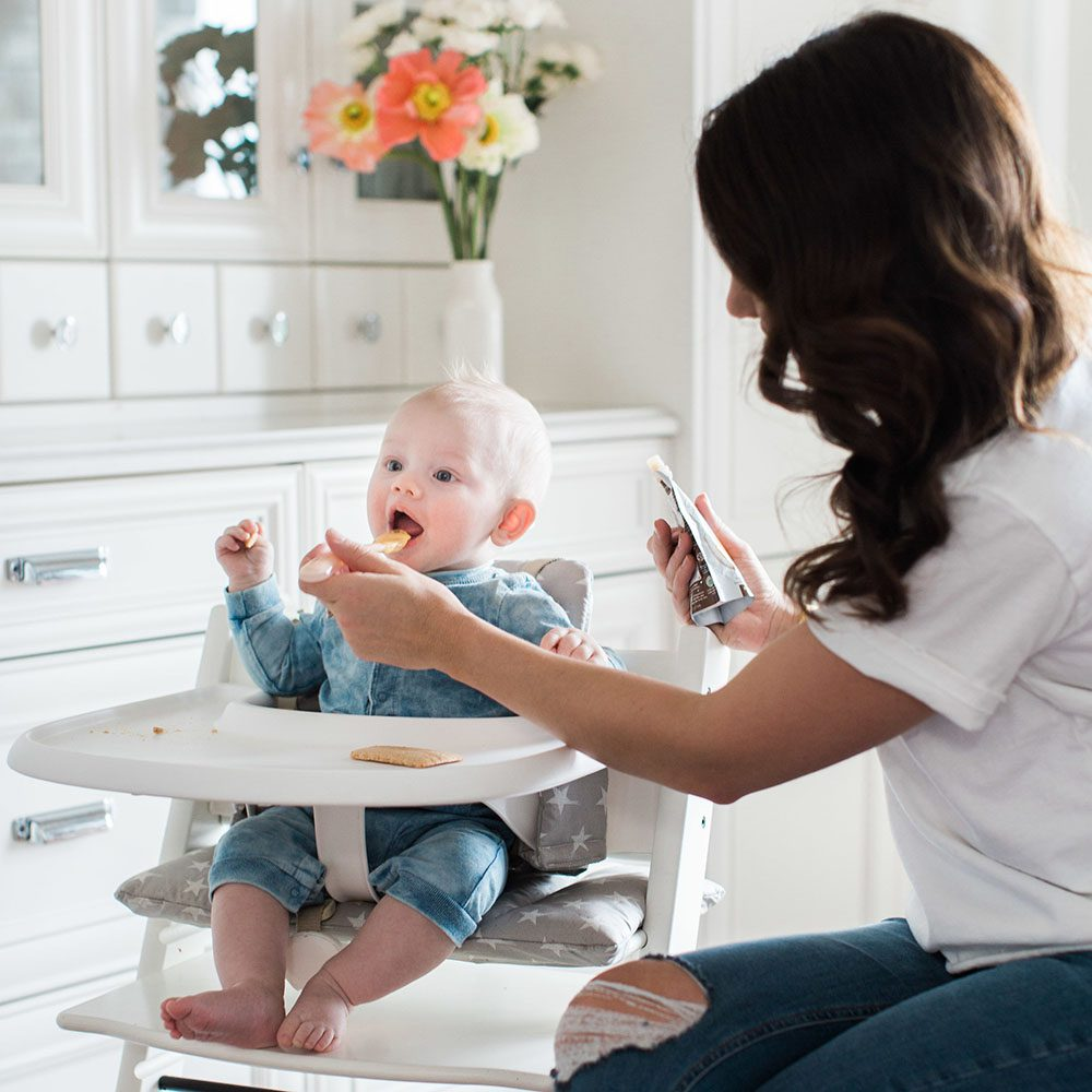 Jillian Harris - Leo Eating Solids