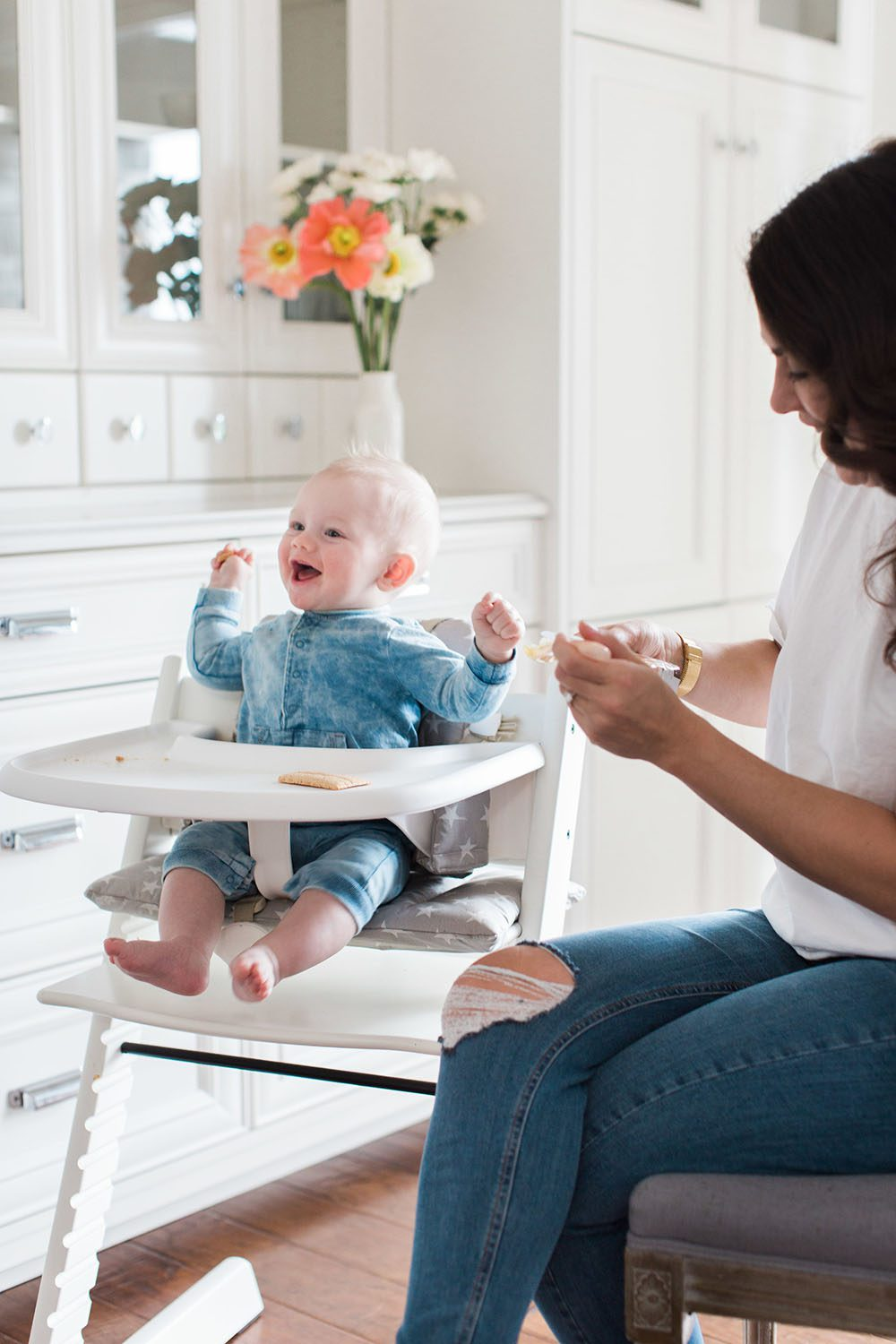 Jillian Harris - Leo Eating Solids-9