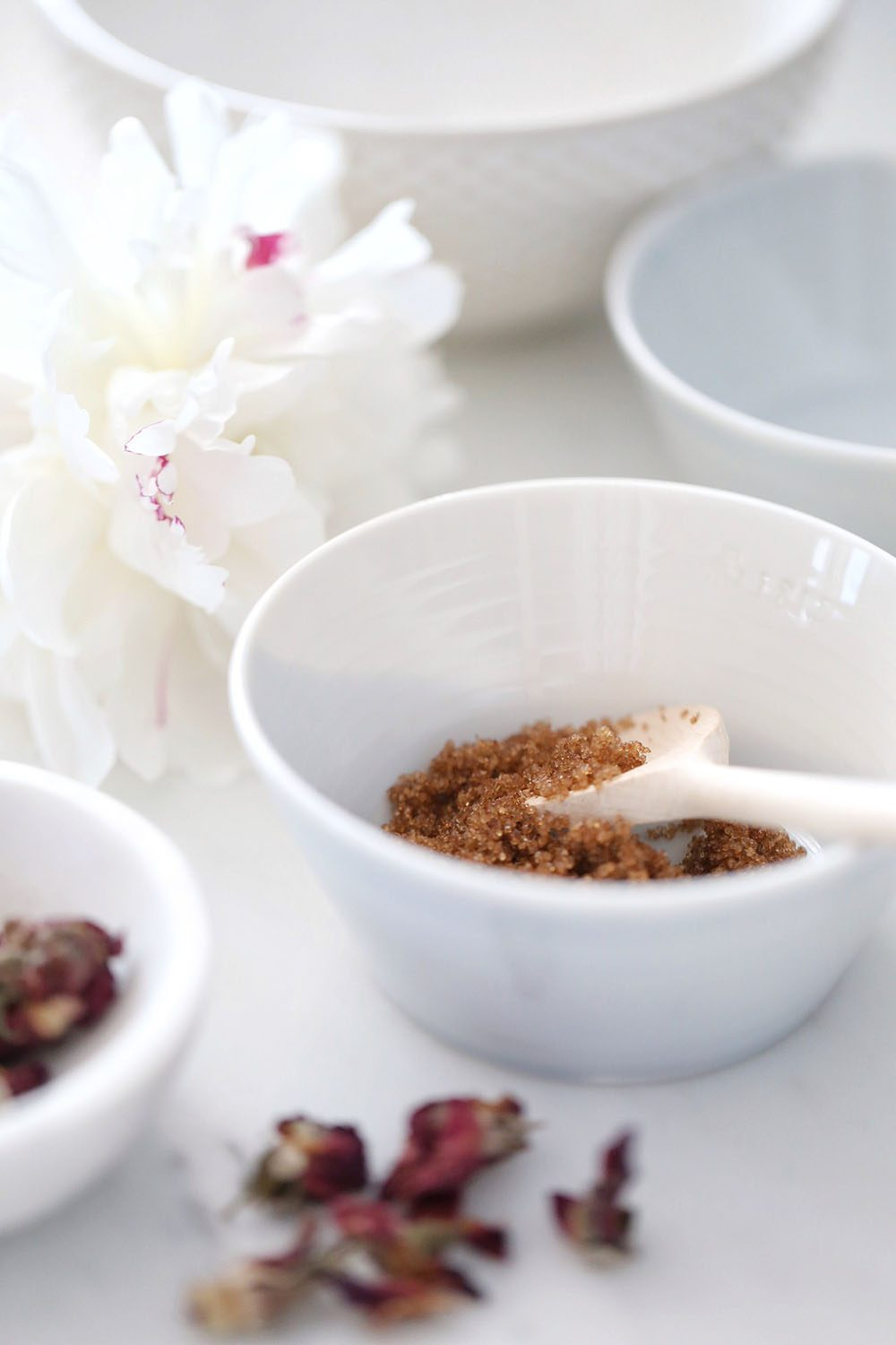Jillian Harris and Erin Sousa DIY Rose Honey Brown Sugar Lip Scrub