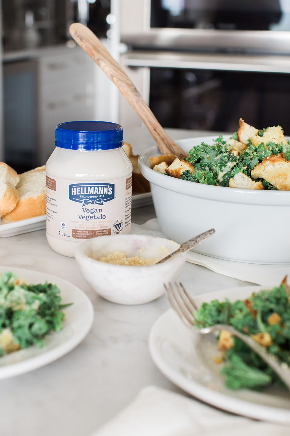 Jillian Harris and Hellmanns Vegan Dressing