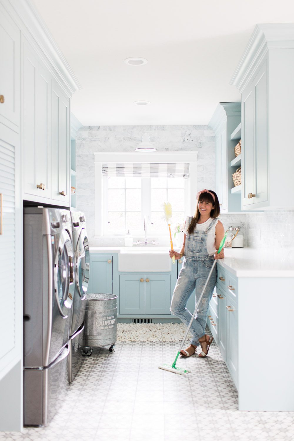 Jillian Harris Cleaning Hacks Swiffer