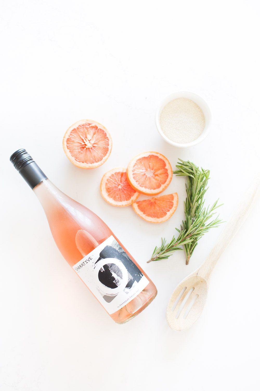 Jillian Harris Haywire Rosemary Grapefruit Frose