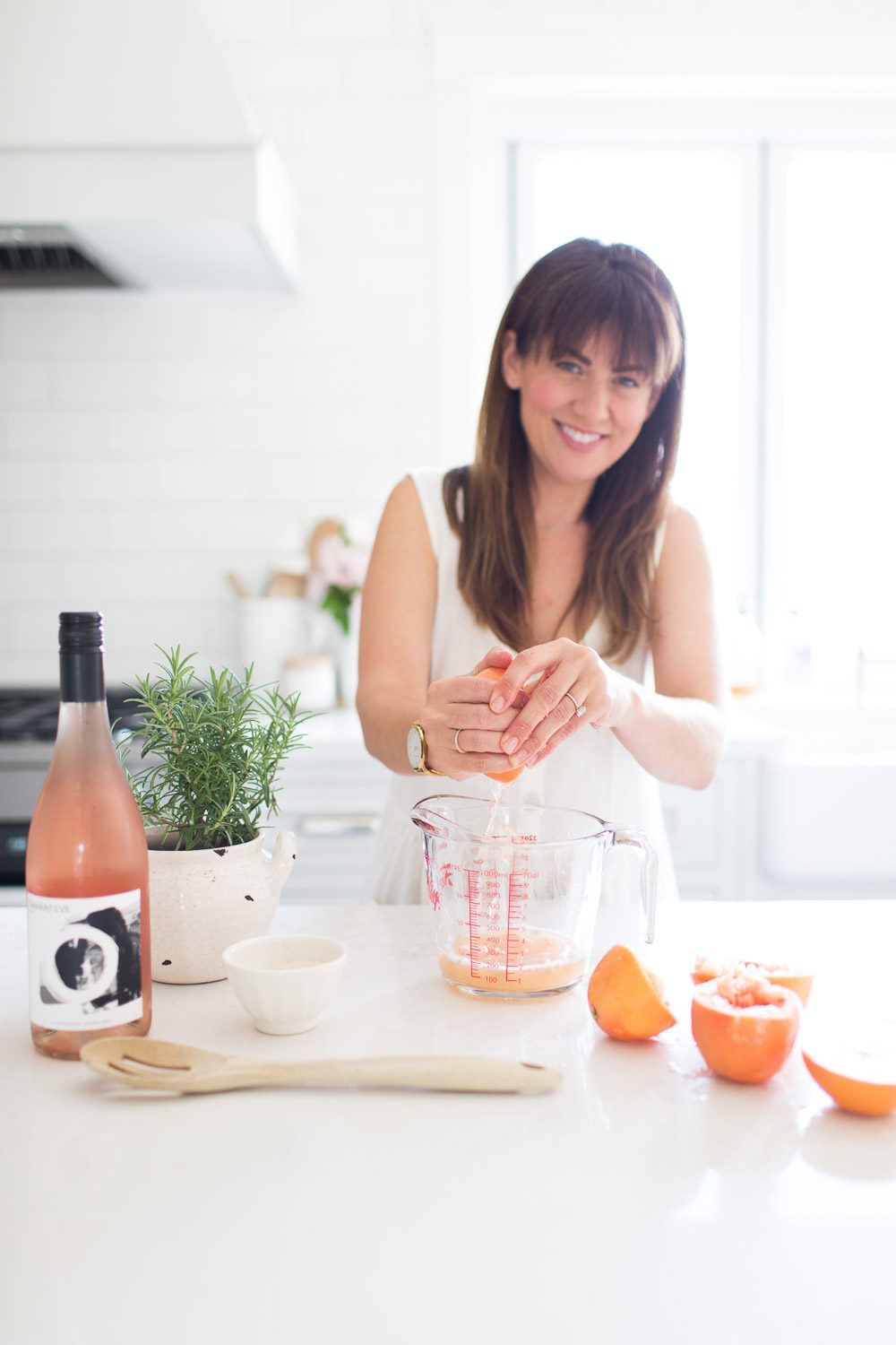 Jillian Harris Haywire Rosemary Grapefruit Frose