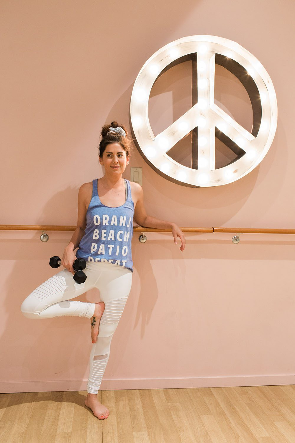 Jillian Harris Oranj Fitness Team Jilly Workout