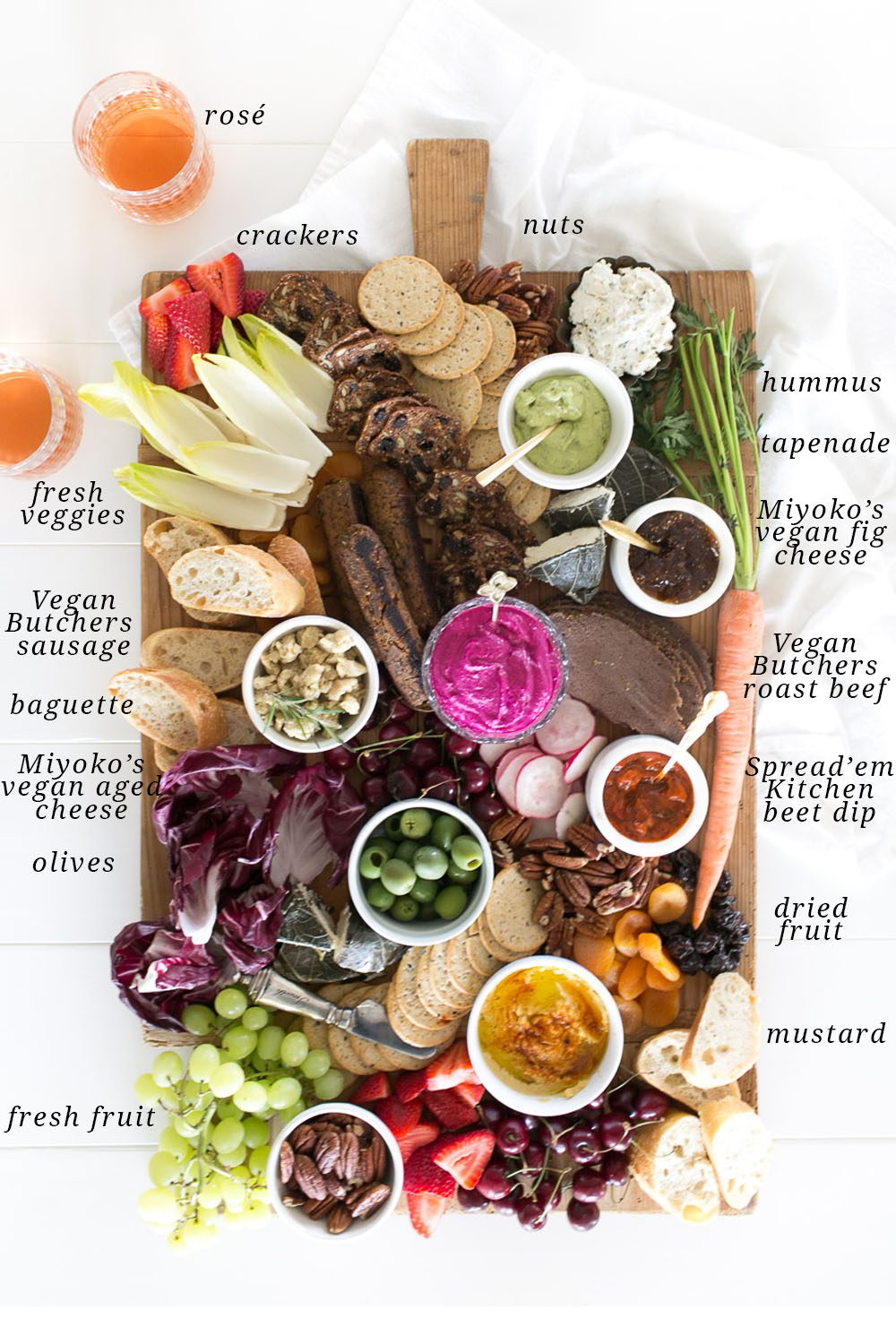 Jillian Harris Vegan Charcuterie Board