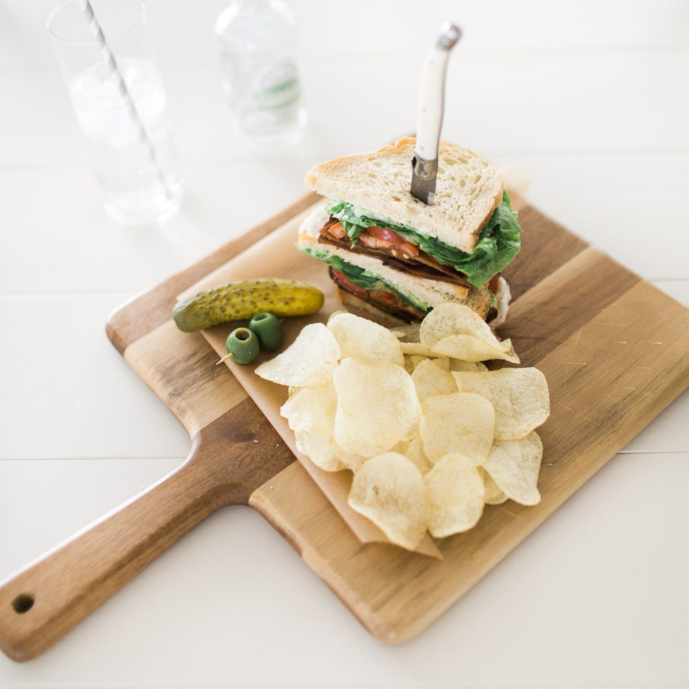 Jillian Harris Vegan BLT