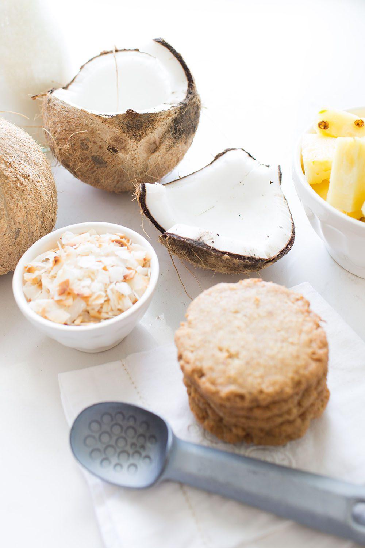 Jillian Harris and Fraiche Nutrition Tropical Ice Cream Sandwiches Vegan