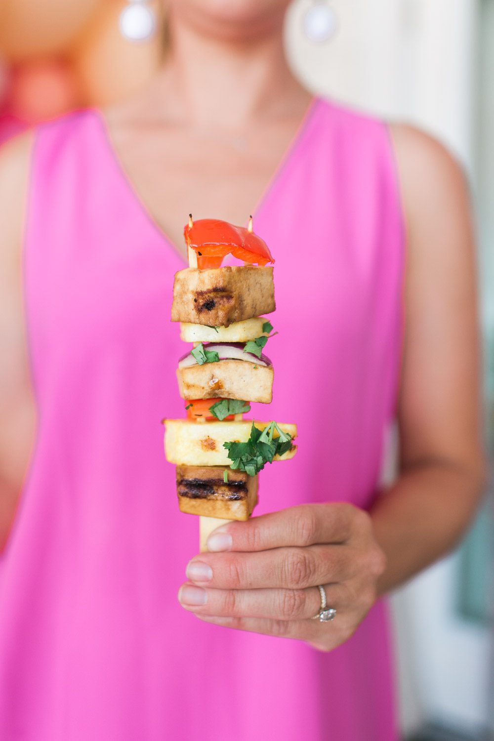 Jillian Harris Tofu Skewers