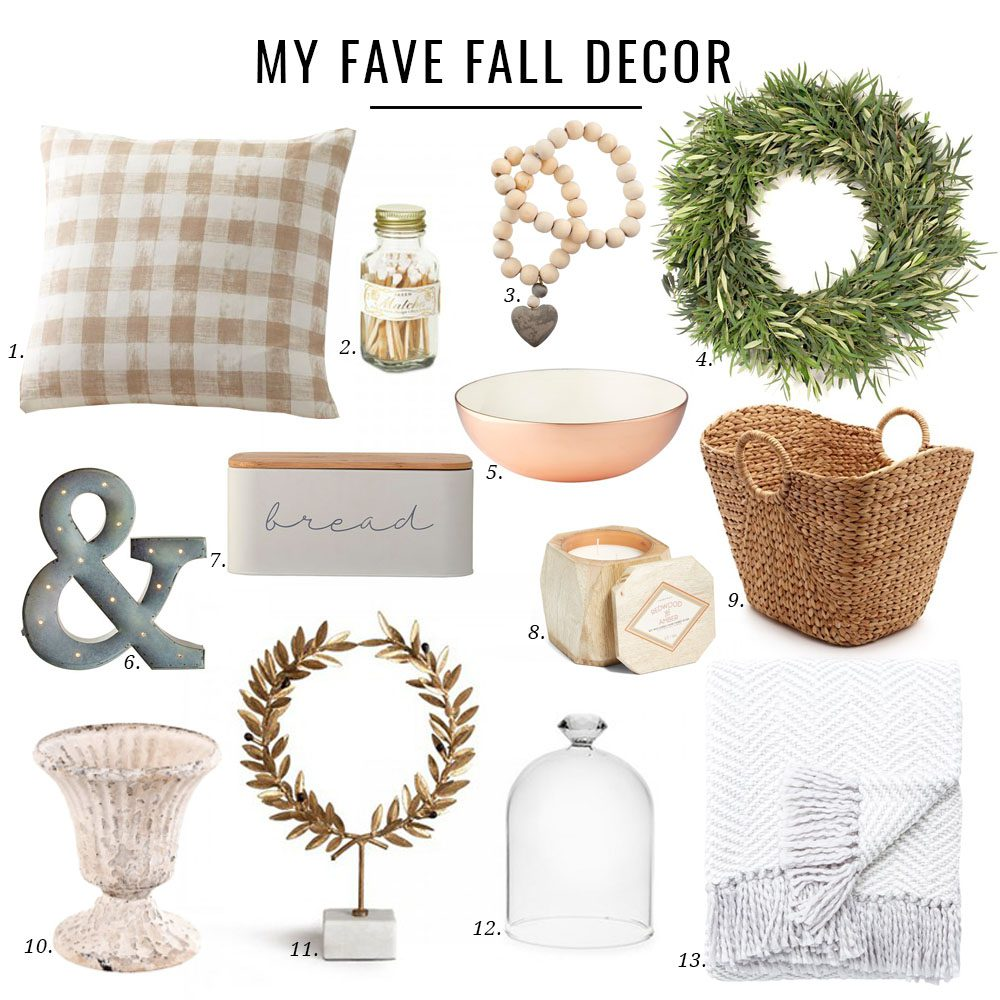 Jillian Harris Fall Decor