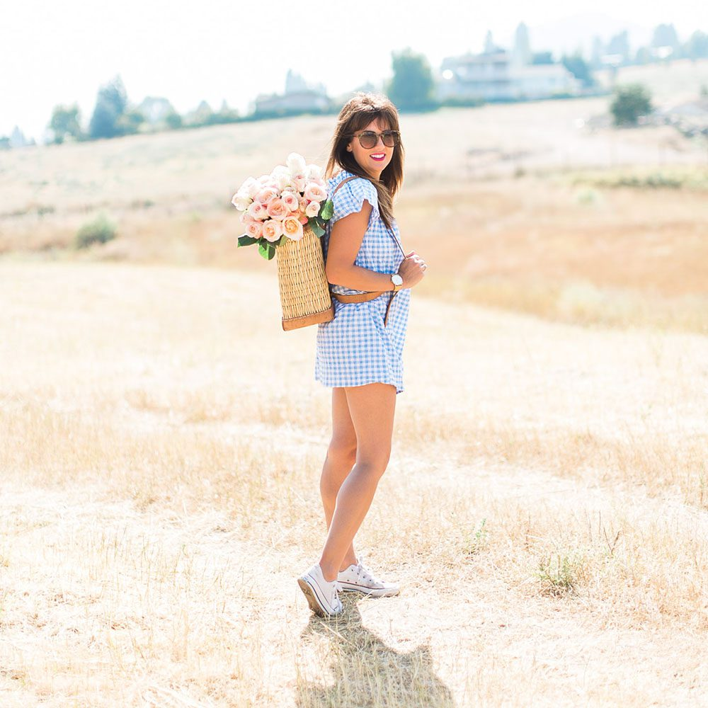 Jillian Harris Nordstrom Gingham Dress