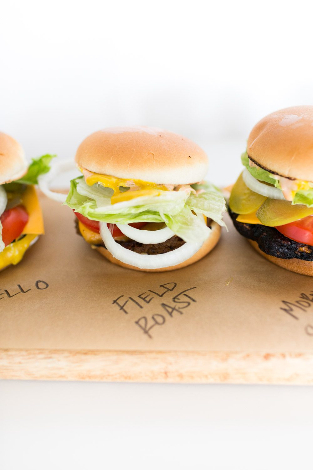 Jillian Harris Vegan Burgers