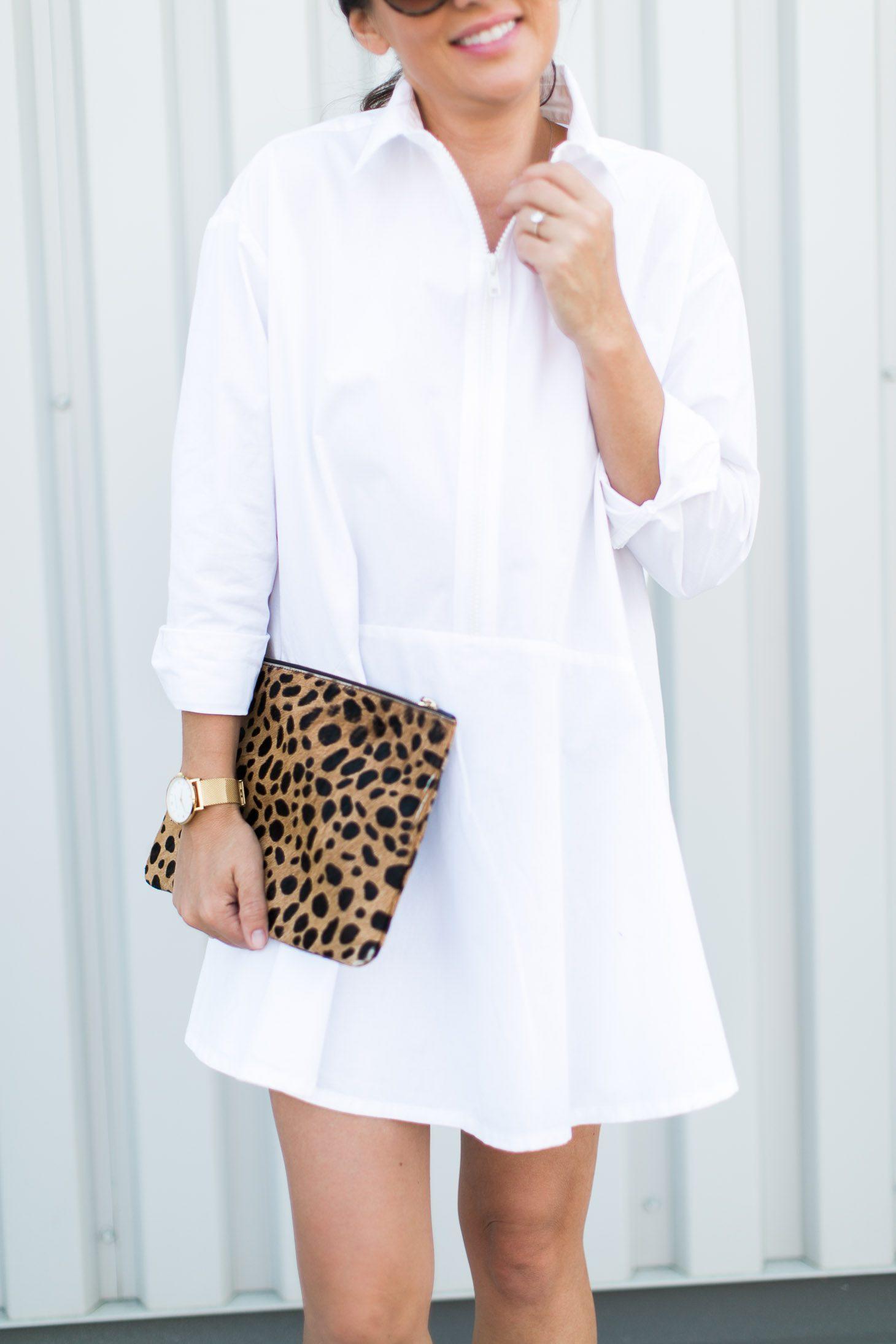 Jillian Harris Urban Outfitters White Dress