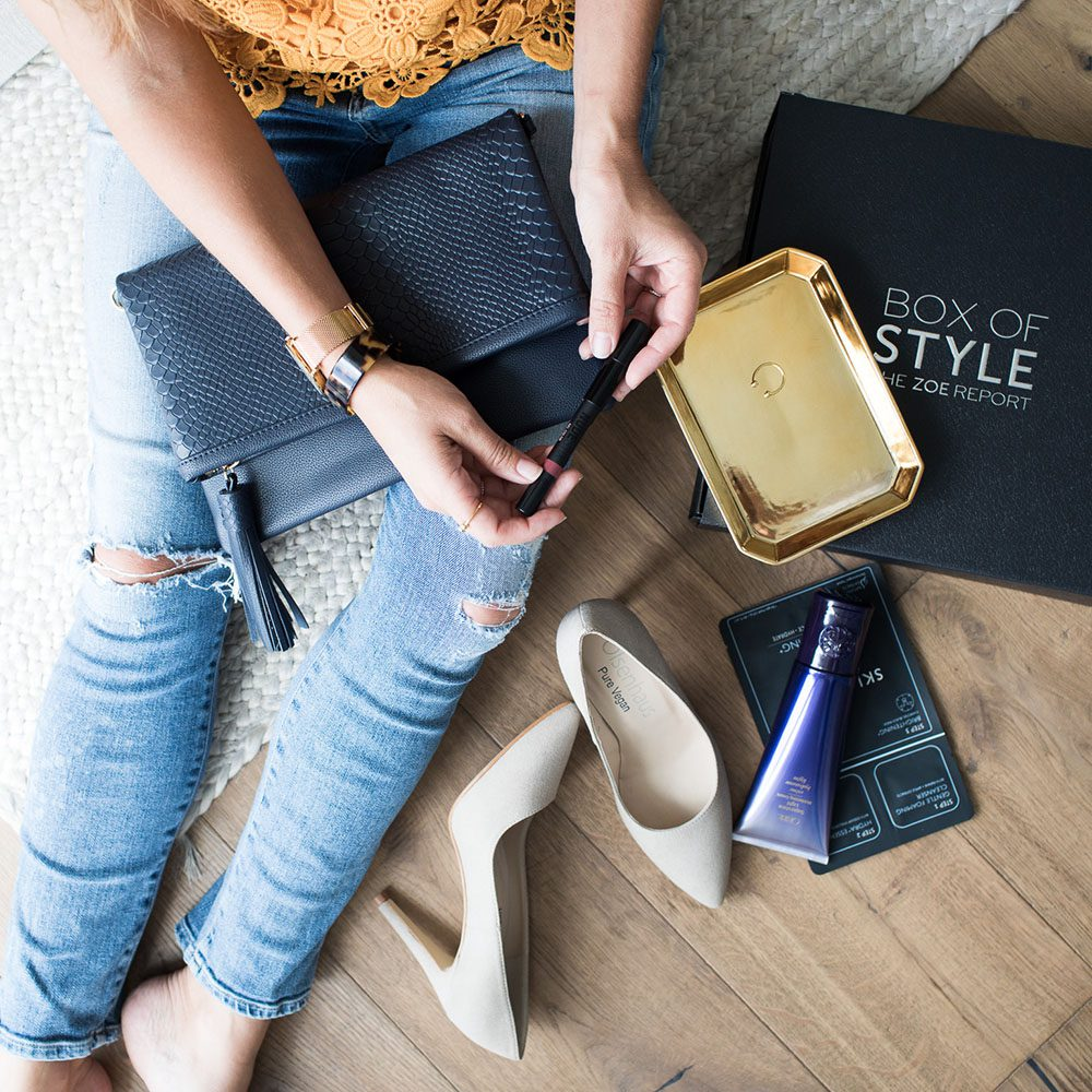 Jillian Harris Zoe Report Style Box
