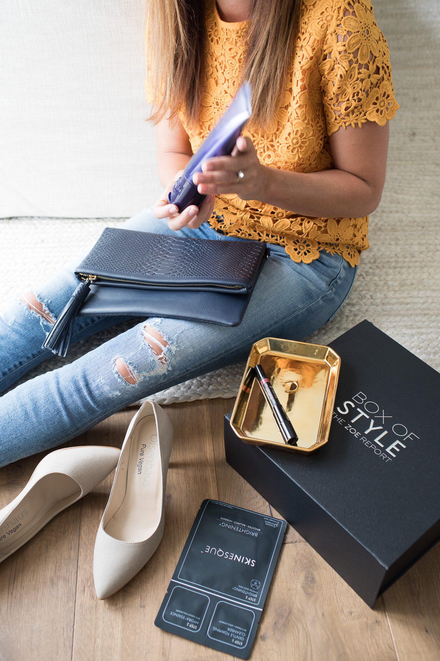 Jillian Harris Zoe Report Style Box