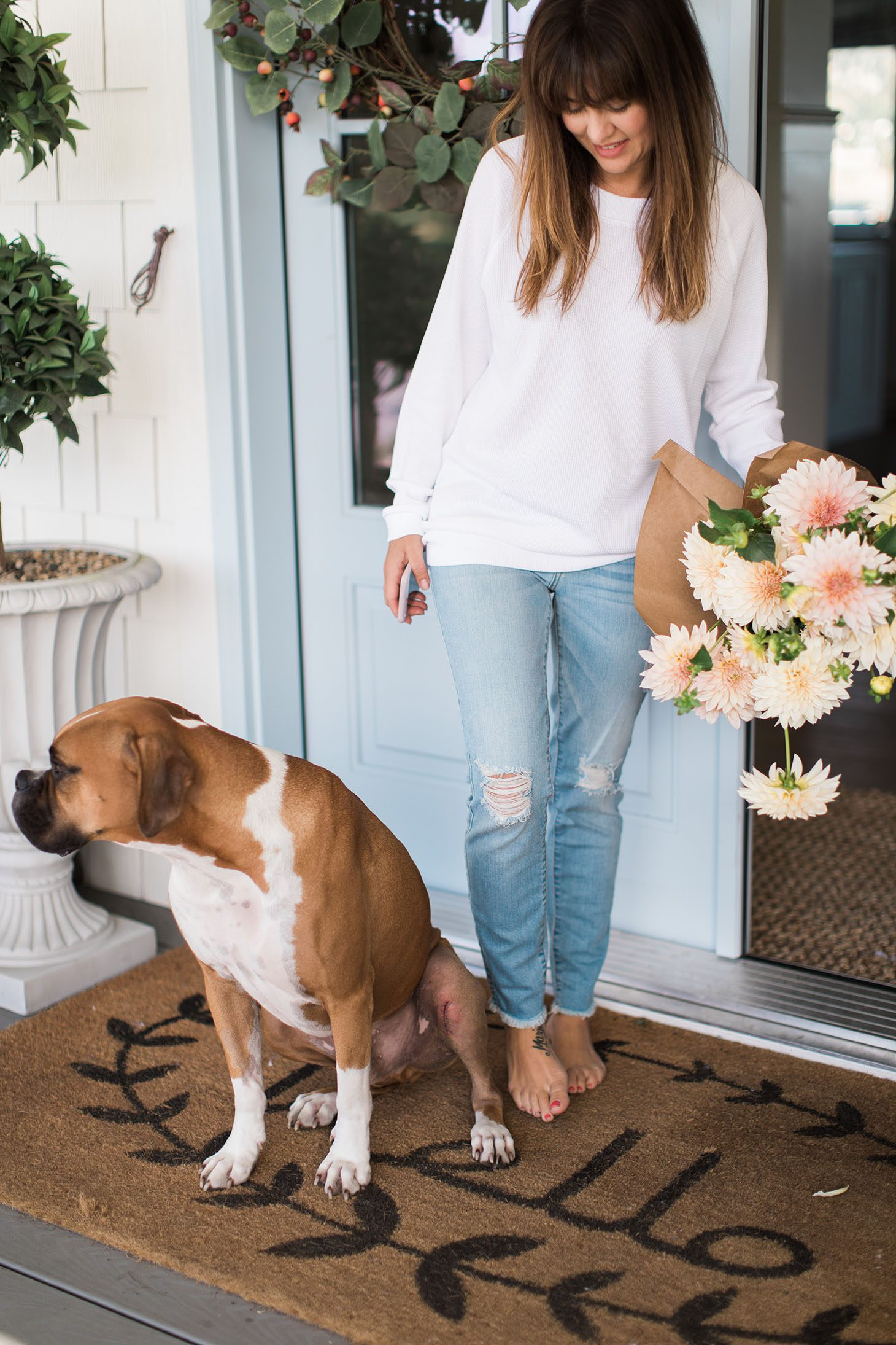 Jillian Harris Doormat Favourites