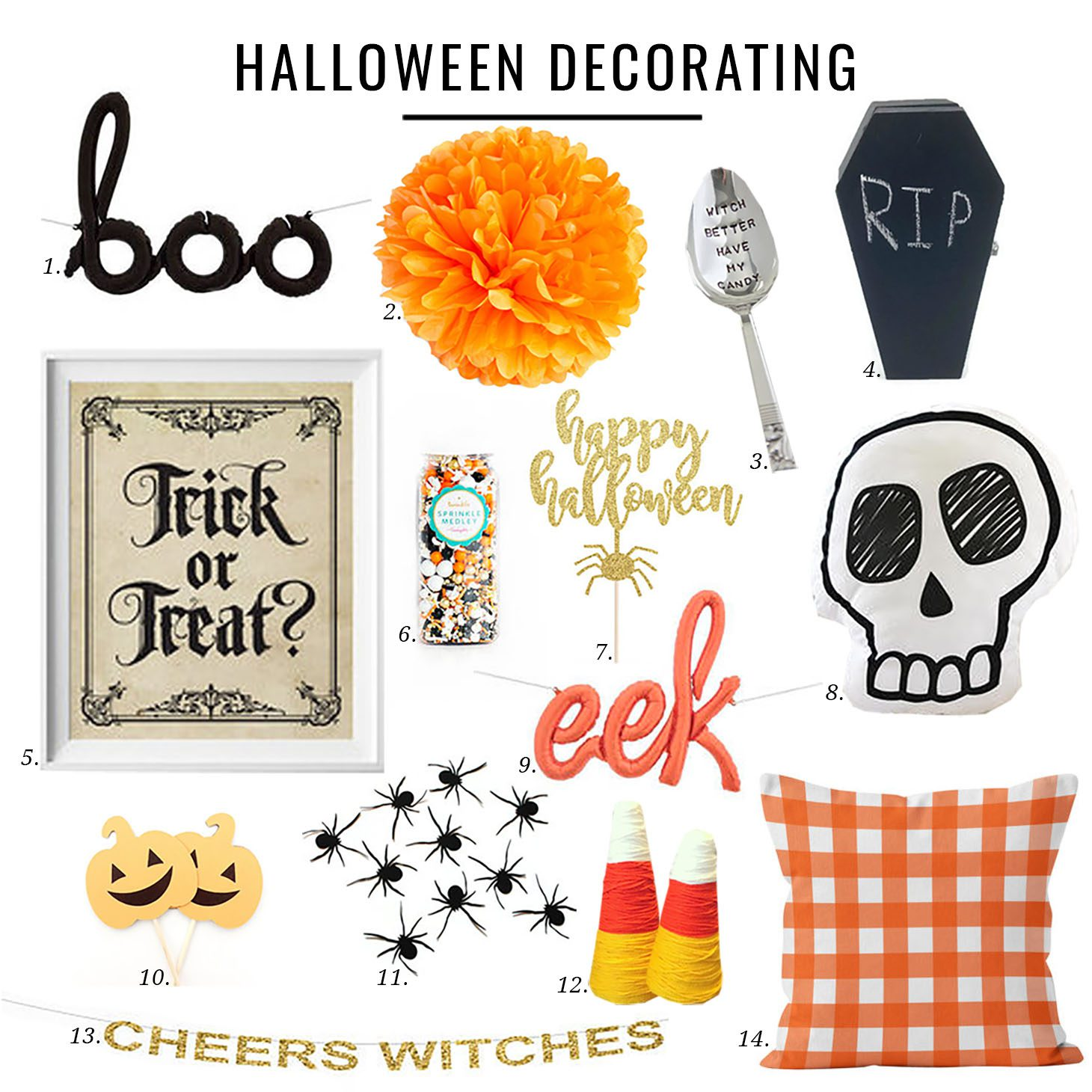 Jillian Harris Etsy Halloween Decorating