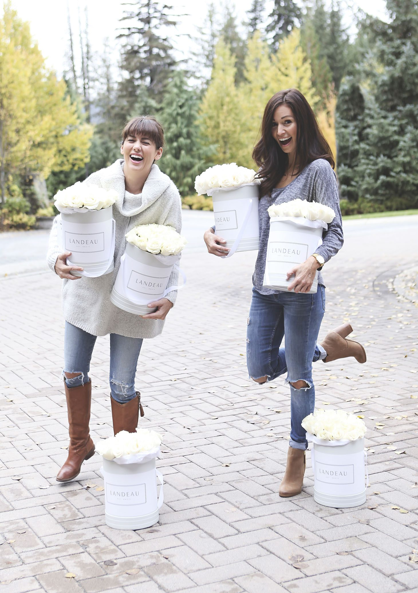 Jillian Harris Toris 40th Birthday Weekend Getaway in Whistler