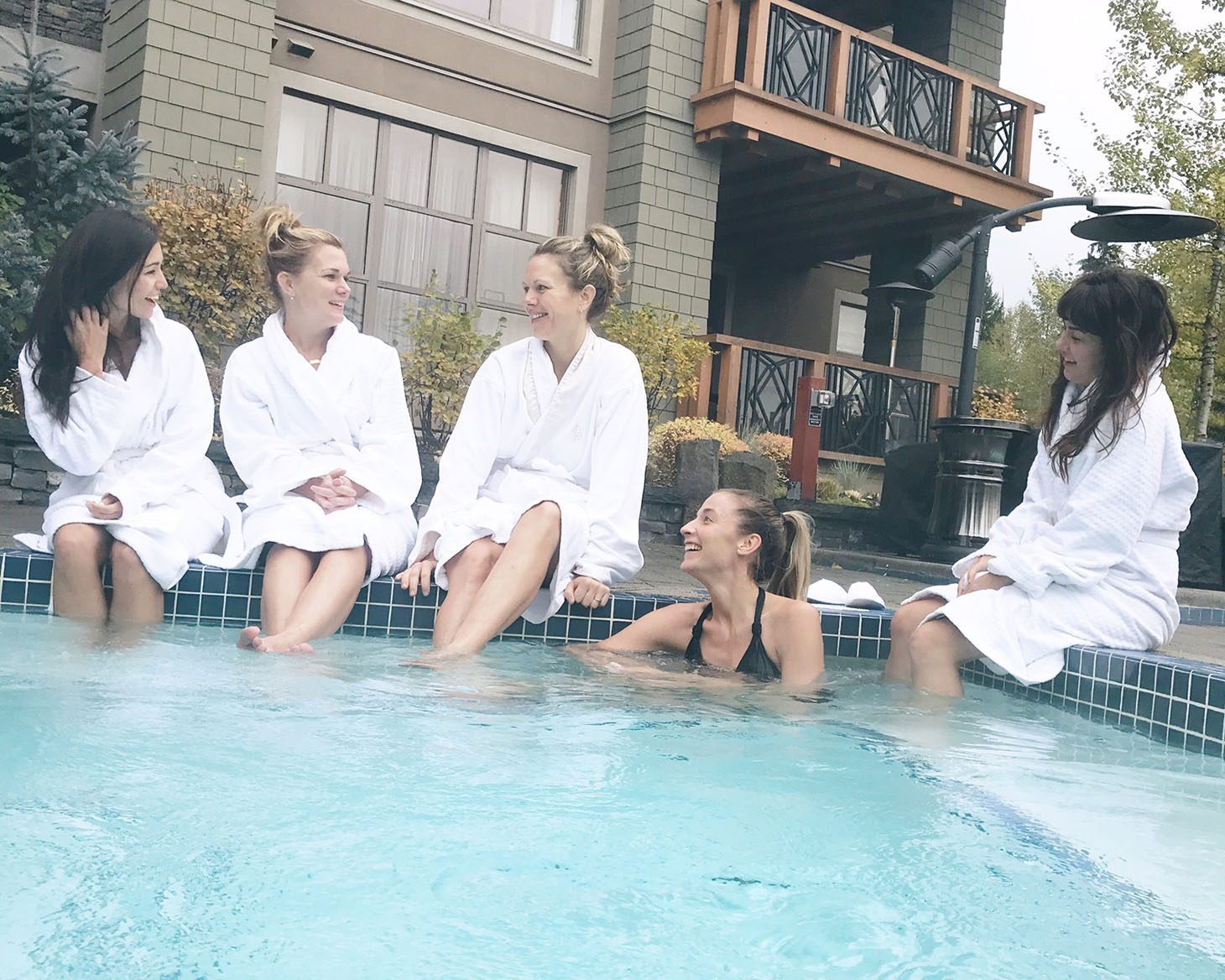 Jillian Harris Toris Birthday Four Seasons Resort Whistler
