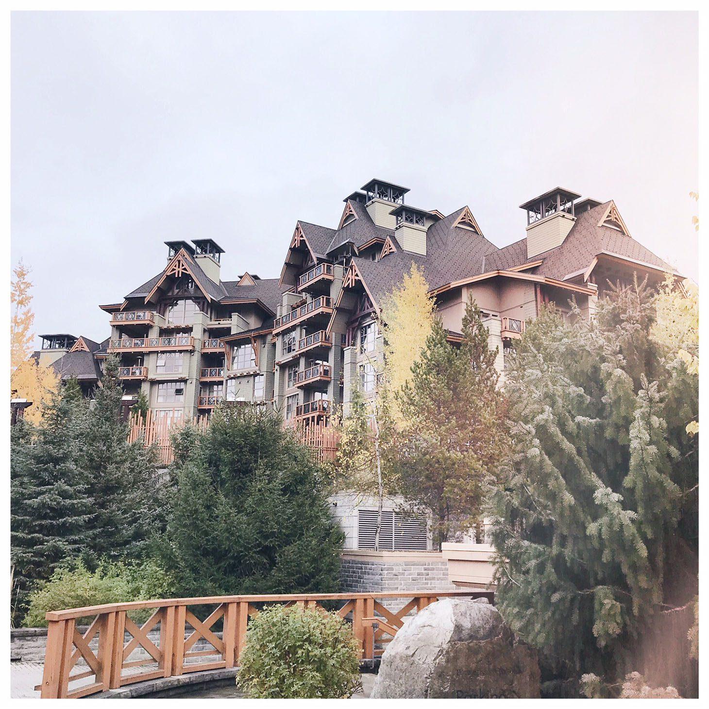 Jillian Harris Toris Birthday Four Seasons Resort Whistler